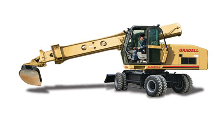 Gradall Rough-Terrain Wheeled XL 5300 III